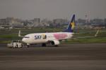 A350XWB-HNDさんが、羽田空港で撮影したスカイマーク 737-86Nの航空フォト(写真)