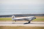 はっし~さんが、神戸空港で撮影したスーパーコンステレーション飛行協会 DC-3Aの航空フォト(写真)