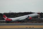flying-dutchmanさんが、成田国際空港で撮影したヴァージン・アトランティック航空 A340-642の航空フォト(写真)