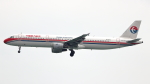誘喜さんが、香港国際空港で撮影した中国東方航空 A321-211の航空フォト(写真)