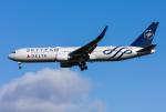 Jeongさんが、ロンドン・ヒースロー空港で撮影したデルタ航空 767-332/ERの航空フォト(写真)