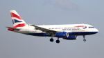 誘喜さんが、ロンドン・ヒースロー空港で撮影したブリティッシュ・エアウェイズ A319-131の航空フォト(写真)