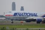 宮崎 育男さんが、成田国際空港で撮影したナショナル・エア・カーゴ 747-428(BCF)の航空フォト(写真)