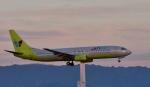 Take51さんが、関西国際空港で撮影したジンエアー 737-86Nの航空フォト(写真)