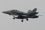 banshee02さんが、厚木飛行場で撮影したアメリカ海兵隊 F/A-18D Hornetの航空フォト(写真)
