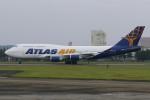 マリオ先輩さんが、横田基地で撮影したアトラス航空 747-446の航空フォト(写真)