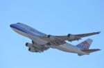 amagoさんが、関西国際空港で撮影したチャイナエアライン 747-409F/SCDの航空フォト(写真)