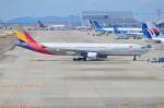 amagoさんが、関西国際空港で撮影したアシアナ航空 A330-323Xの航空フォト(写真)