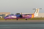 zettaishinさんが、ハノーファー空港で撮影したフライビー DHC-8-402Q Dash 8の航空フォト(写真)