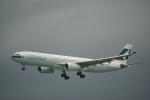JA8037さんが、香港国際空港で撮影したキャセイパシフィック航空 A330-343Xの航空フォト(写真)
