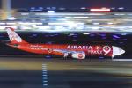 ストロベリーさんが、羽田空港で撮影したエアアジア・エックス A330-343Xの航空フォト(写真)
