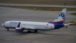 lufthansa9919さんが、シュトゥットガルト空港で撮影したサンエクスプレス 737-8HCの航空フォト(写真)