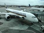 とりてつさんが、サンフランシスコ国際空港で撮影したシンガポール航空 A350-941XWBの航空フォト(写真)