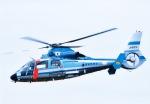 takamaruさんが、静浜飛行場で撮影した静岡県警察 AS365N1 Dauphin 2の航空フォト(写真)