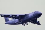チャーリーマイクさんが、横田基地で撮影したアメリカ空軍 C-5B Galaxyの航空フォト(写真)
