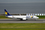 we love kixさんが、神戸空港で撮影したスカイマーク 737-86Nの航空フォト(写真)