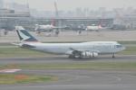 Orange linerさんが、羽田空港で撮影したキャセイパシフィック航空 747-467の航空フォト(写真)