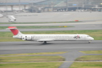 Orange linerさんが、羽田空港で撮影した日本航空 MD-90-30の航空フォト(写真)
