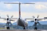 かねやんさんが、鹿児島空港で撮影した日本エアコミューター DHC-8-402Q Dash 8の航空フォト(写真)
