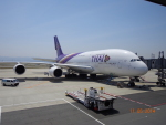 lufthansa9919さんが、関西国際空港で撮影したタイ国際航空 A380-841の航空フォト(写真)