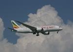 渚のカセットさんが、シンガポール・チャンギ国際空港で撮影したエチオピア航空 787-8 Dreamlinerの航空フォト(写真)