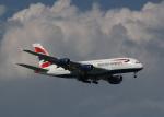 渚のカセットさんが、シンガポール・チャンギ国際空港で撮影したブリティッシュ・エアウェイズ A380-841の航空フォト(写真)
