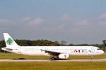 菊池 正人さんが、ジュネーヴ・コアントラン国際空港で撮影したミドル・イースト航空 A321-231の航空フォト(写真)