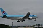 HS888さんが、鹿児島空港で撮影した大韓航空 777-2B5/ERの航空フォト(写真)