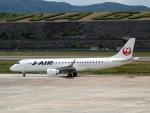 staralliance☆JA712Aさんが、長崎空港で撮影したジェイ・エア ERJ-190-100(ERJ-190STD)の航空フォト(写真)