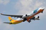 saoya_saodakeさんが、成田国際空港で撮影したセブパシフィック航空 A330-343Xの航空フォト(写真)