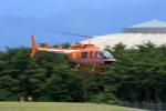 Nao0407さんが、松本空港で撮影した新日本ヘリコプター 206L-3 LongRanger IIIの航空フォト(写真)