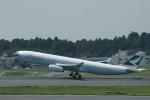 flying-dutchmanさんが、成田国際空港で撮影したキャセイパシフィック航空 A330-343Xの航空フォト(写真)