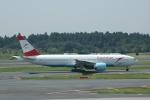 flying-dutchmanさんが、成田国際空港で撮影したオーストリア航空 777-2Z9/ERの航空フォト(写真)