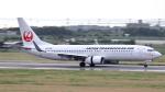 誘喜さんが、宮古空港で撮影した日本トランスオーシャン航空 737-8Q3の航空フォト(写真)