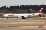 OS52さんが、成田国際空港で撮影したスイスインターナショナルエアラインズ A340-313Xの航空フォト(写真)