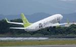 staralliance☆JA712Aさんが、長崎空港で撮影したソラシド エア 737-86Nの航空フォト(写真)