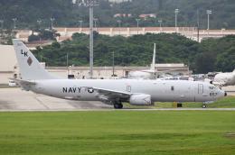 なごやんさんが、嘉手納飛行場で撮影したアメリカ海軍 P-8A (737-8FV)の航空フォト(写真)