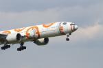 空とぶイルカさんが、成田国際空港で撮影した全日空 777-381/ERの航空フォト(写真)