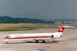 菊池 正人さんが、チューリッヒ空港で撮影したメリディアーナ MD-82 (DC-9-82)の航空フォト(写真)