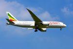 まいけるさんが、スワンナプーム国際空港で撮影したエチオピア航空 787-8 Dreamlinerの航空フォト(写真)