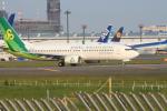 空とぶイルカさんが、成田国際空港で撮影した春秋航空日本 737-81Dの航空フォト(写真)