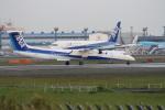 空とぶイルカさんが、成田国際空港で撮影したANAウイングス DHC-8-402Q Dash 8の航空フォト(写真)