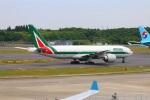 zero1さんが、成田国際空港で撮影したアリタリア航空 777-243/ERの航空フォト(写真)