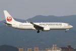 masa707さんが、福岡空港で撮影した日本トランスオーシャン航空 737-8Q3の航空フォト(写真)