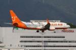 masa707さんが、福岡空港で撮影したチェジュ航空 737-8ALの航空フォト(写真)