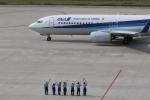 さとさとさんが、神戸空港で撮影した全日空 737-881の航空フォト(写真)