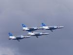 ジャトコさんが、米子空港で撮影した航空自衛隊 T-4の航空フォト(写真)