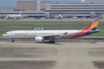 キイロイトリ1005fさんが、羽田空港で撮影したアシアナ航空 A330-323Xの航空フォト(写真)