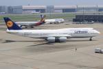 キイロイトリ1005fさんが、羽田空港で撮影したルフトハンザドイツ航空 747-830の航空フォト(写真)