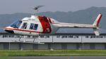 航空見聞録さんが、八尾空港で撮影した朝日航洋 206B JetRanger IIの航空フォト(写真)